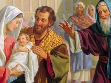 детям о Сретении Господнем