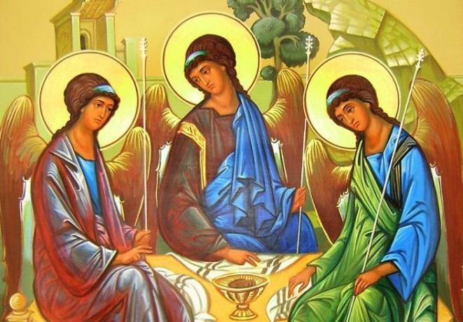 как рассказать детям о Троице