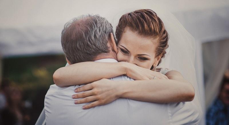 слова благодарности папе от невесты