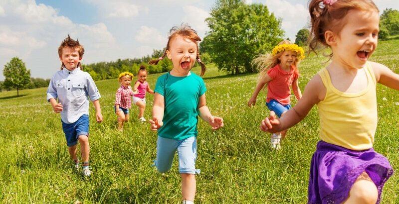 подвижные игры для детей на улице 4 5 лет