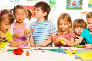 список канцтоваров для детского сада