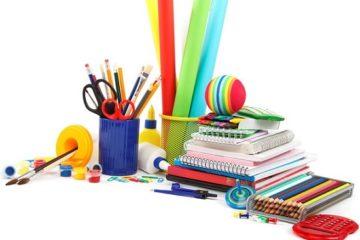 Список канцелярских товаров для начальной школы